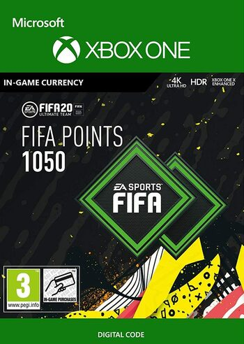 FIFA 20 - 1050 FUT Points Xbox Live Key GLOBAL
