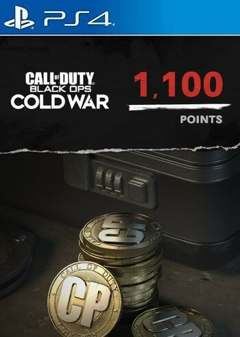 1,100 Call of Duty: Black Ops Cold War Points PS4/PS5 (PSN) Key UNITED STATES