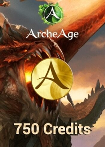 ArcheAge - 750 Credits Pack Key GLOBAL