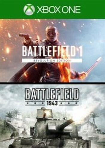 Battlefield 1 Revolution & Battlefield 1943 Bundle (Xbox One) Xbox Live Key GLOBAL