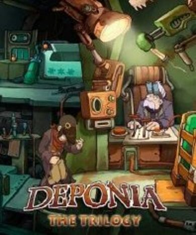 Deponia Trilogy Steam Key GLOBAL