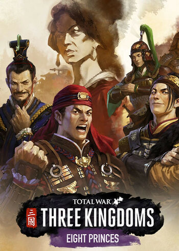 Total War: THREE KINGDOMS - Eight Princes (DLC) Steam Key GLOBAL