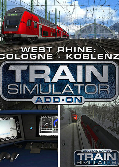 Train Simulator - West Rhine: Köln - Koblenz Route Add-On (DLC) Steam Key EUROPE