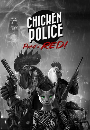 Chicken Police - Paint it RED! Steam Key GLOBAL