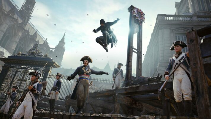 Buy Assassin S Creed Unity Xbox One Key For Cheaper Eneba