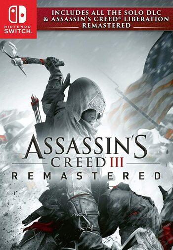 Assassin's Creed III: Remastered (Nintendo Switch) eShop Key UNITED STATES