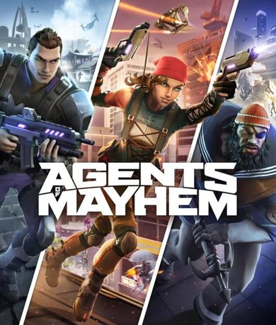 Agents of Mayhem Steam Key GLOBAL фото