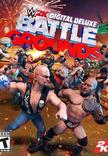 WWE 2K BATTLEGROUNDS Digital Deluxe Edition Steam Key GLOBAL