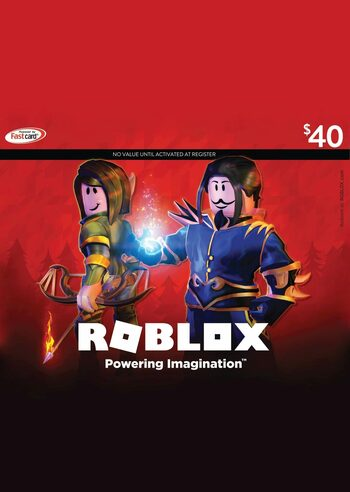 Roblox Card 40 USD Key NORTH AMERICA