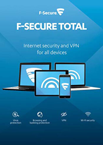 F-Secure Total Protection 3 Devices 2 Years Key GLOBAL