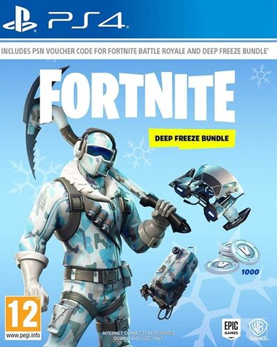 Fortnite: Deep Freeze Bundle (PS4) PSN Key EUROPE