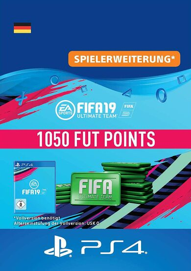 FIFA 19 - 1050 FUT Points (PS4) PSN Key GERMANY