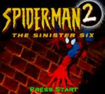 Spider-Man 2: The Sinister Six Game Boy Color