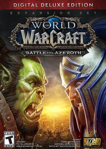 World of Warcraft: Battle for Azeroth - Digital Deluxe Battle.net Key EUROPE