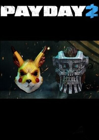 PayDay 2: Electarodent and Titan Masks (DLC) Steam Key GLOBAL