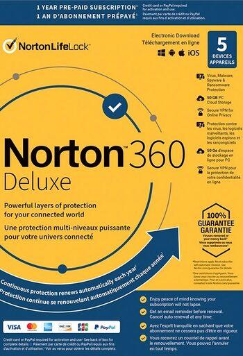 Norton 360 Deluxe 25GB - 3 Devices 1 Year - Norton Key UNITED STATES