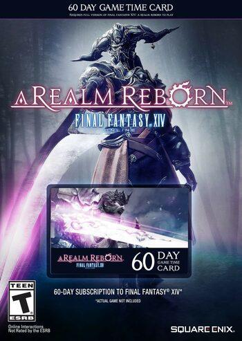 Final Fantasy XIV: A Realm Reborn 60 Day Game TIme Card Key EUROPE