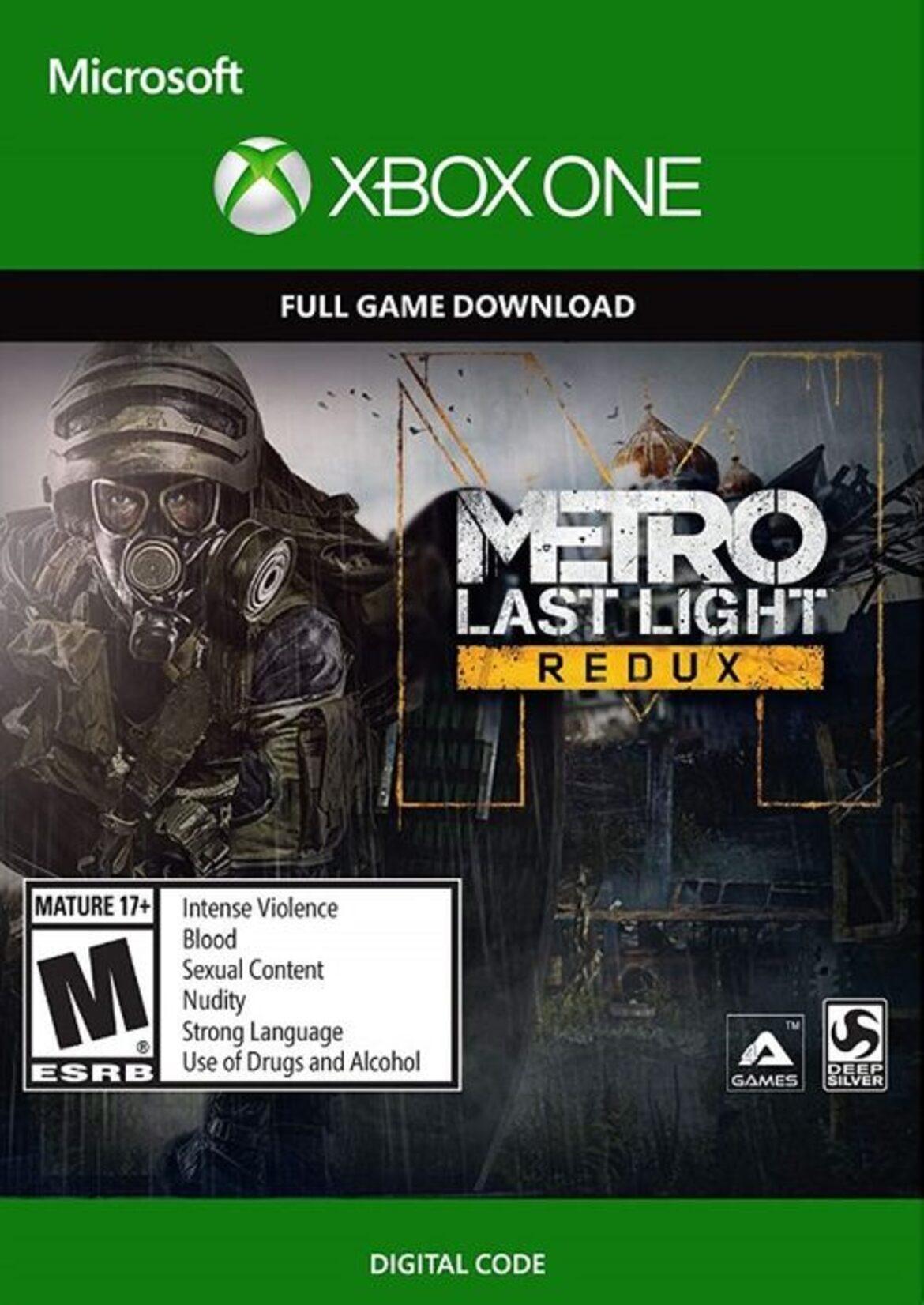Buy Metro: Last Light Redux Xbox Key Good Price! | ENEBA