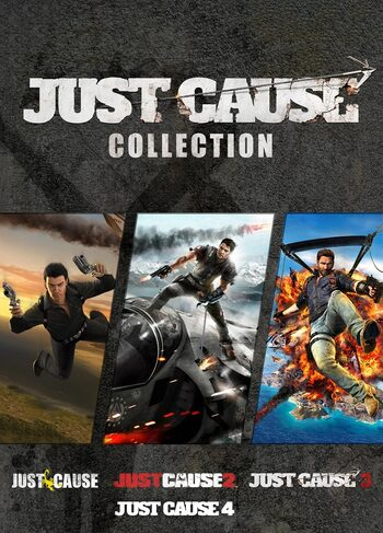 Just Cause Collection Steam Key GLOBAL
