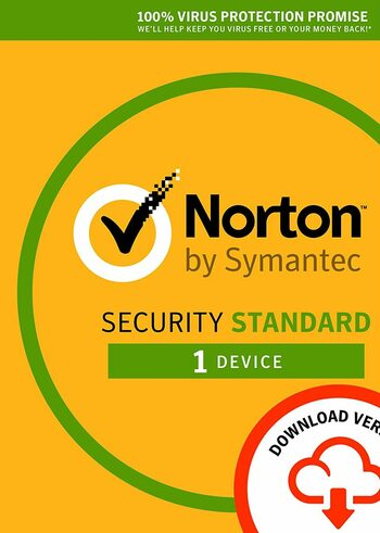 Norton Security Standard - 1 Device - 1 Year - Norton Key EUROPE