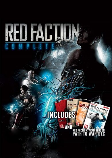 Red Faction Collection Steam Key GLOBAL