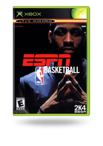 ESPN NBA Basketball Xbox