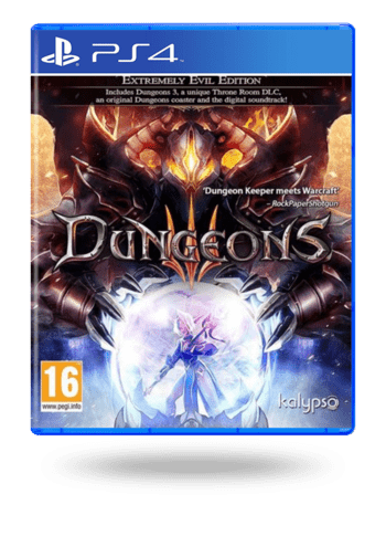 Dungeons 3 Extremely Evil Edition PlayStation 4