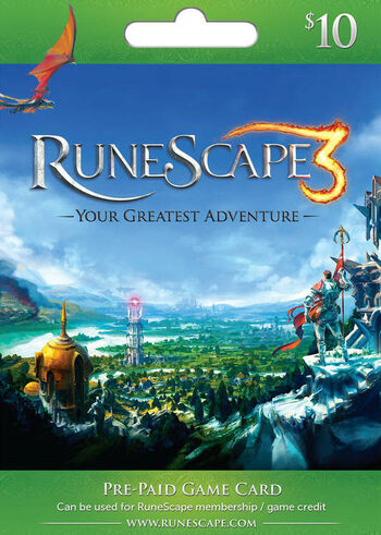 RuneScape $10 USD Key UNITED STATES