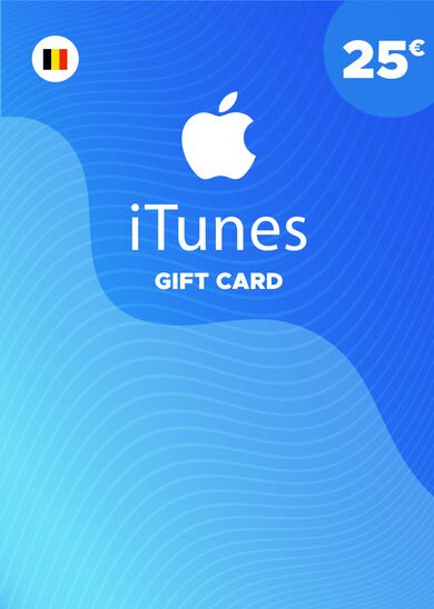 Apple iTunes Gift Card 25 EUR iTunes Key BELGIUM