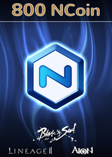 NCSoft NCoin 800 Ncoin Key GLOBAL