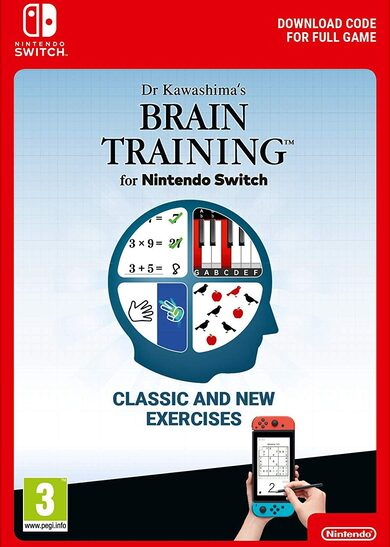 Dr Kawashima's Brain Training (Nintendo Switch) eShop Key EUROPE