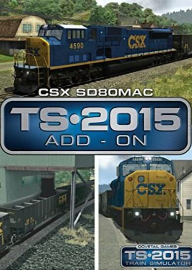 Train Simulator - CSX SD80MAC Loco Add-On (DLC) Steam Key EUROPE