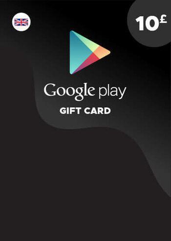 Google Play Gift Card 10 GBP (UK) Key UNITED KINGDOM