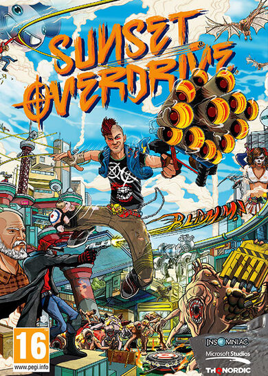 Sunset Overdrive Steam Key GLOBAL