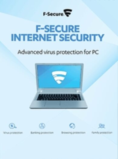 F-Secure Internet Security 1 User 1 Year Key GLOBAL ()