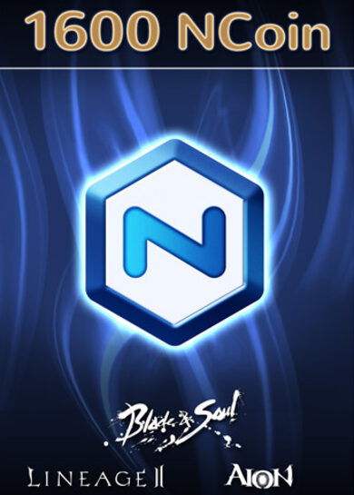 NCSoft NCoin 1600 Ncoin Key GLOBAL