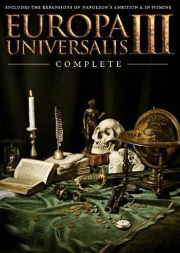 Europa Universalis III (Complete Edition) Steam Key GLOBAL
