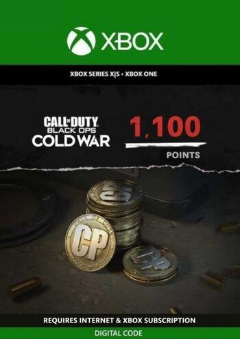 1,100 Call of Duty: Black Ops Cold War Points XBOX LIVE Key GLOBAL