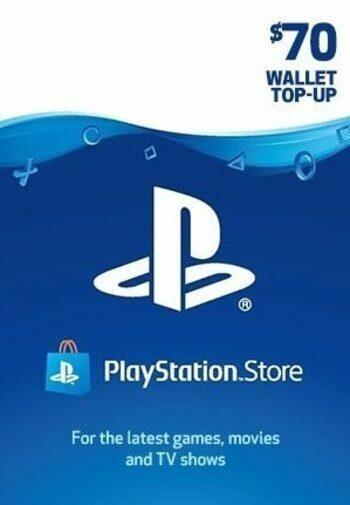 PlayStation Network Card 70 USD (LBN) PSN Key LEBANON