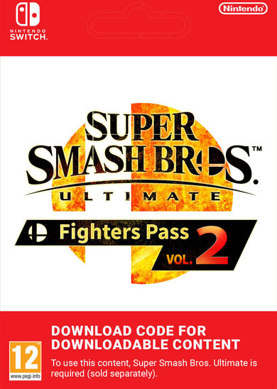 Super Smash Bros Ultimate Fighter Pass Nintendo Switch Vol. 2  Nintendo Switch