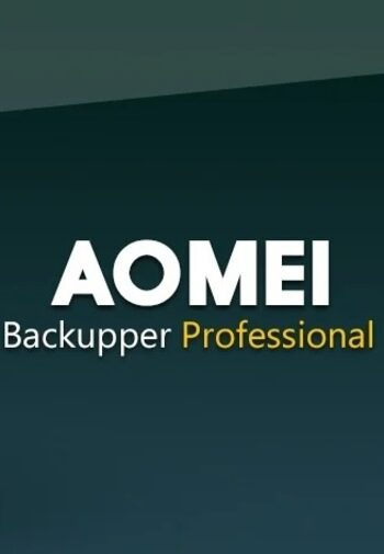 AOMEI Backupper Professional 2 Devices Lifetime Key GLOBAL
