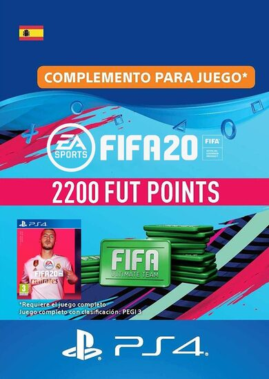FIFA 20 - 2200 FUT Points (PS4) PSN Key SPAIN