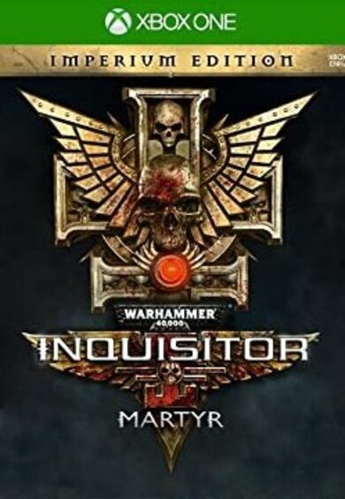 Warhammer 40,000: Inquisitor - Martyr Imperium Edition (Xbox One) Xbox Live Key UNITED STATES