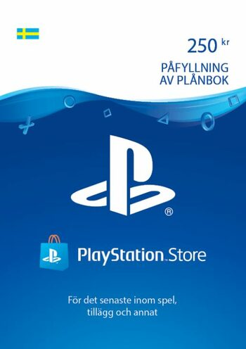 PlayStation Network Card 250 SEK (SE) PSN Key SWEDEN