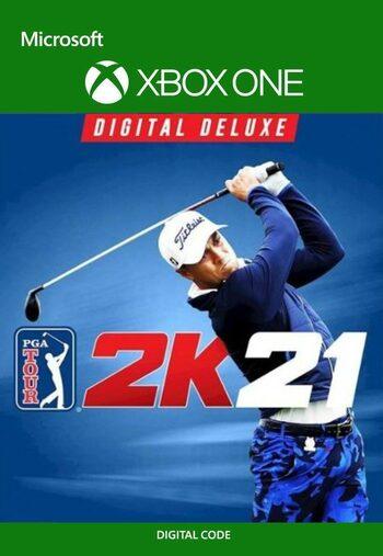 PGA TOUR 2K21 Digital Deluxe (Xbox One) Xbox Live Key GLOBAL