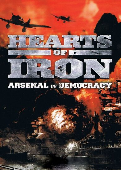 Arsenal of Democracy: A Hearts of Iron Game Steam Key GLOBAL