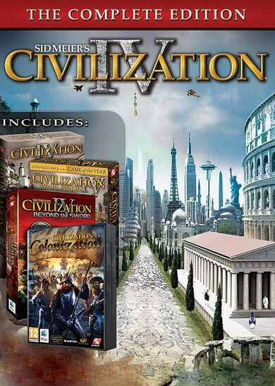Civilization 4 (The Complete Edition) Steam Key EUROPE