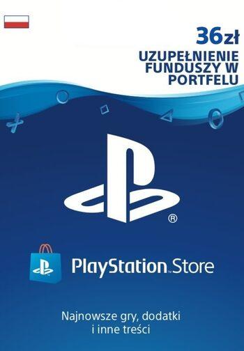 Karta PlayStation Network 36 PLN PSN Klucz POLAND