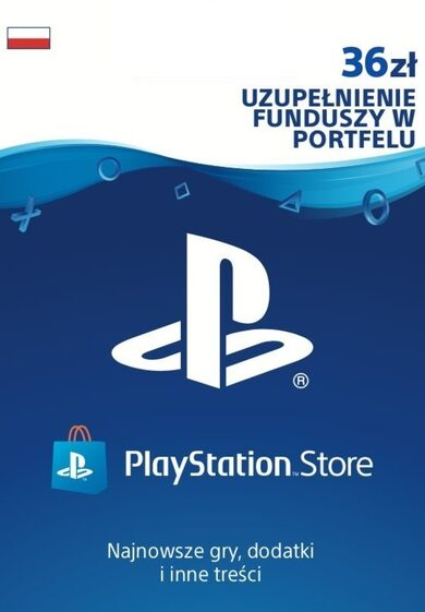 PlayStation Network Card 36 PLN (PL) PSN Key POLAND
