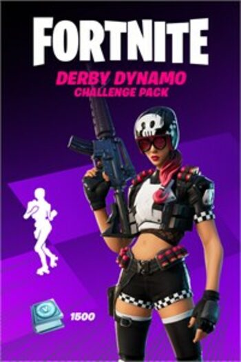 Fortnite - Derby Dynamo Challenge Pack + 1,500 V-Bucks Challenge (Xbox One) Xbox Live Key UNITED STATES